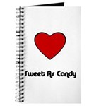 SWEET AS CANDY Journal