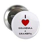 I LOVE GRANDMA AND GRANDPA :) Button