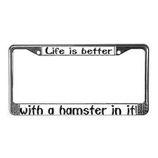 """""""Hamster"""" License Plate Frame"""