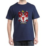 Geoghegan Coat of Arms Black T-Shirt
