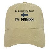 Of course I'm Right Finnish Baseball Cap