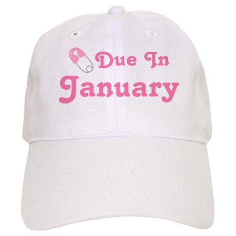 January Baby Diaper Pin Cap