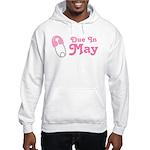 May Baby Diaper Pin Hooded Sweatshirt