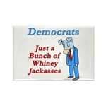 Democrats are Jackasses Rectangle Magnet (10 pack)