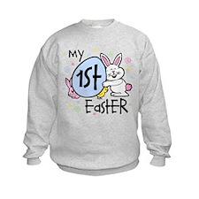 Bunny Chickie 1st Easter Sweatshirt