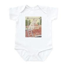 Brick House Pig Infant Bodysuit
