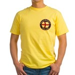 English Free Masons Yellow T-Shirt