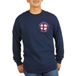 English Free Masons Long Sleeve Dark T-Shirt