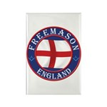 English Free Masons Rectangle Magnet
