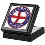 English Free Masons Keepsake Box