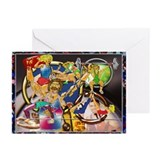 Greeting Cards (Pk of 20) Competitive Sports Art