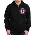 English Free Masons Zip Hoodie (dark)