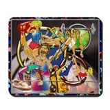 Mousepad Competitive Sports Art