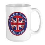 English Freemason Large Mug