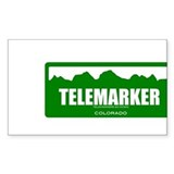 Cute Telemarking Decal