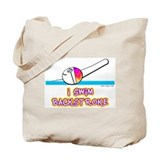 I Swim Backstroke Tote Bag