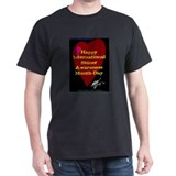 Shiner Awareness Black T-Shirt