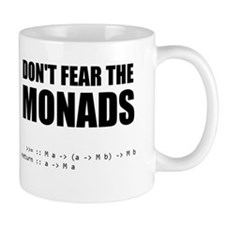 Don't Fear The Monads mug