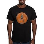 Knitting Champ Men's Fitted T-Shirt (dark)