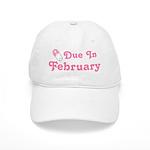 February Baby Diaper Pin Cap