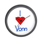 Heart Vonn Wall Clock