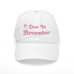 November Baby Diaper Pin Cap