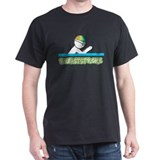 Breaststroke Black T-Shirt