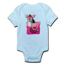 Zebra in A Bag Infant Bodysuit