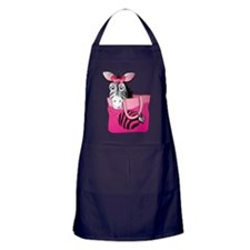 Zebra in A Bag Apron (dark)