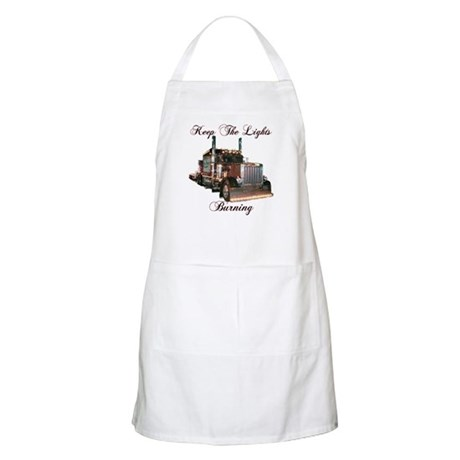Keep The Lights Burning Apron