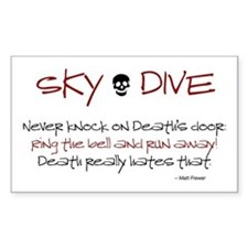 Never Knock Decal