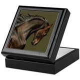 Morgan Stallion Keepsake Box