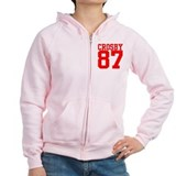 Cute Curling hockey Zip Hoodie