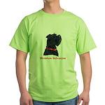 Miniature Schnauzer Green T-Shirt