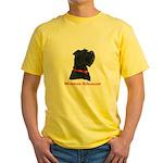 Miniature Schnauzer Yellow T-Shirt