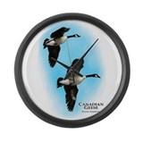 Canadian Geese Large Wall Clock