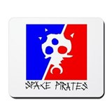 Cute Space pirate Mousepad