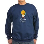 Crafty Chick Sweatshirt (dark)