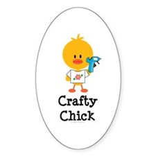 Crafty Chick Decal