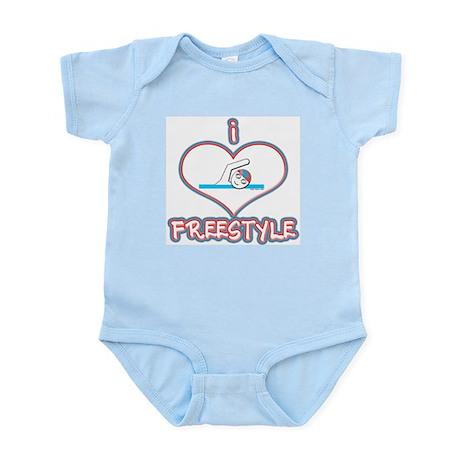 I Love Freestyle! Infant Creeper