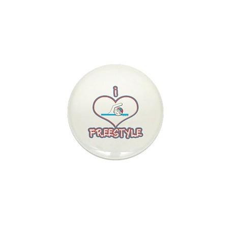 I Love Freestyle! Mini Button (100 pack)