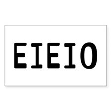 EIEIO Decal