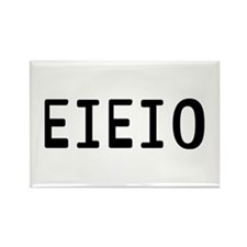 EIEIO Rectangle Magnet