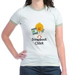 Scrapbook Chick Jr. Ringer T-Shirt