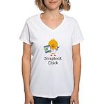 Scrapbook Chick Women's V-Neck T-Shirt