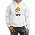 Scrapbook Chick Hooded Sweatshirt