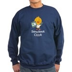 Scrapbook Chick Sweatshirt (dark)