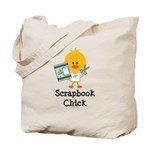Scrapbook Chick Tote Bag