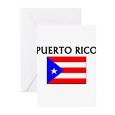 Cool Puerto rico flag Greeting Cards (Pk of 10)