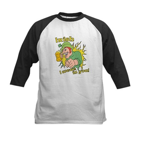 Irish I Were In You! Kids Baseball Jersey